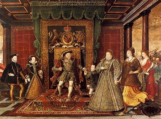 William Rogers circa 1545-1604 (British), Allegory of the Tudor Succession 1590-95